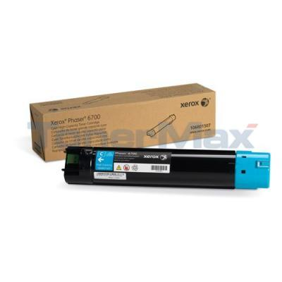 XEROX PHASER 6700 TONER CARTRIDGE CYAN 12K